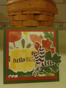 Hello Fall Card 001